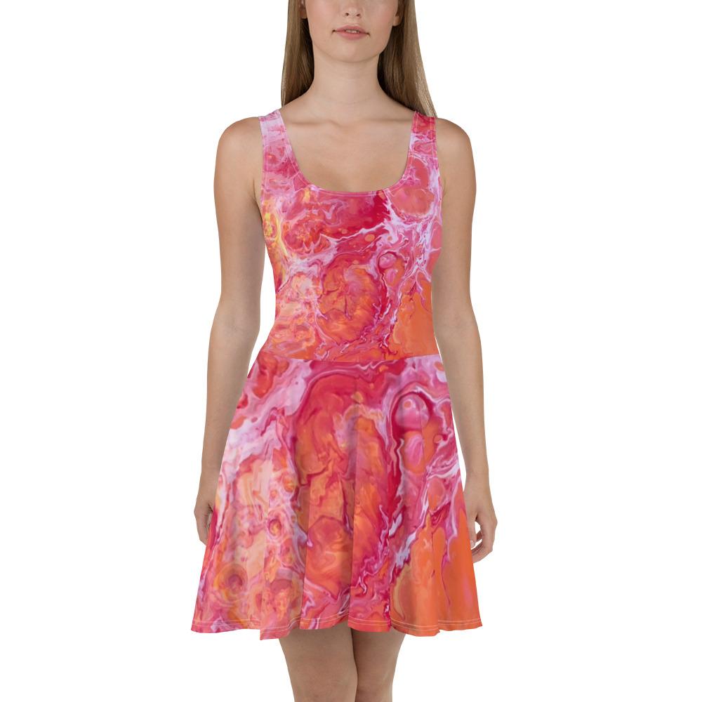 2cceb38d9329 Orange Dream Skater Dress – Essentially Savvy